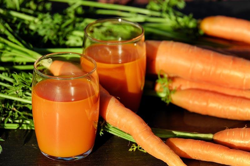 Verduras de temporada - zanahoria