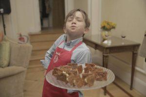 Mamá: ¡Quiero hacer las recetas de la televisión!