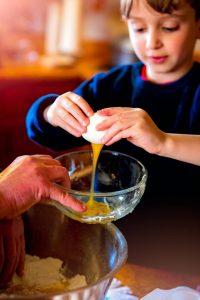 Como la cocina puede ayudar a los estudiantes de primaria