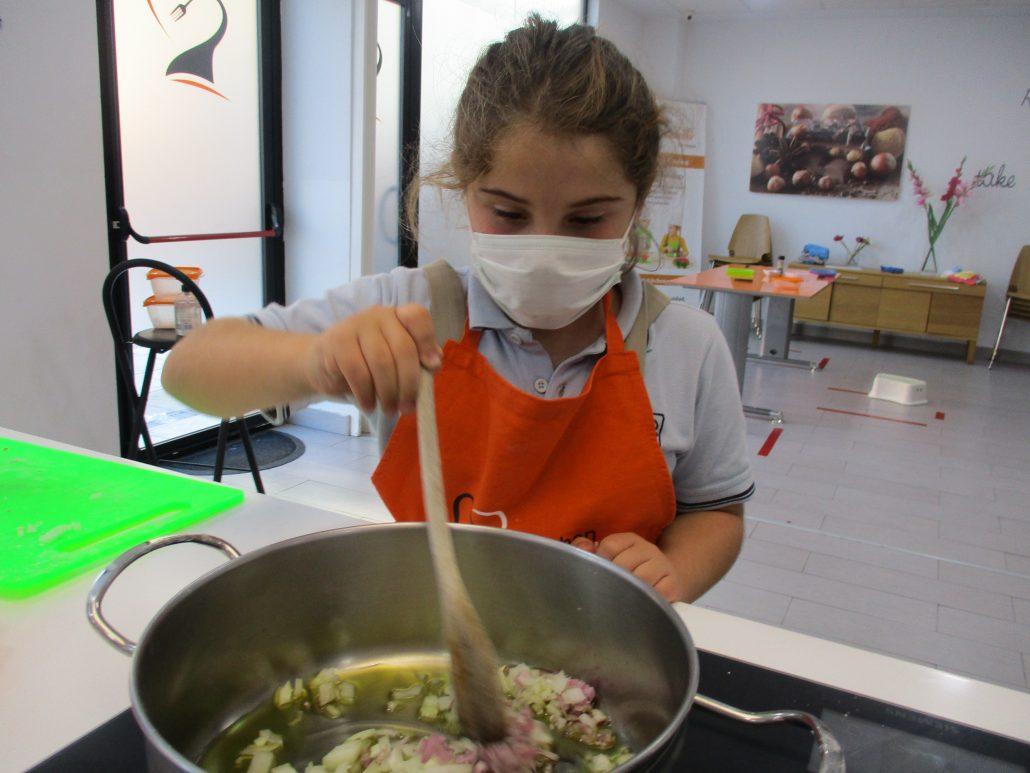 clases de cocina infantil