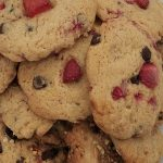 COOKIES DE FRESA Y CHOCOLATE