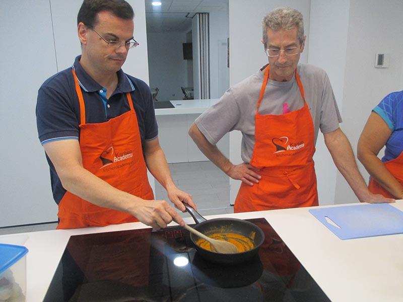 Curso cocina creativa Siemens - En Kitchen Academy