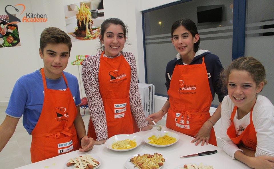 Ven A Nuestros Talleres De Cocina Para Niños
