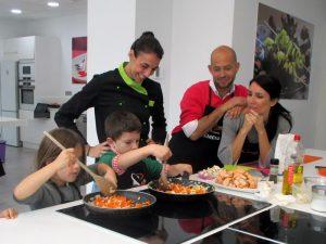 talleres de cocina en familia