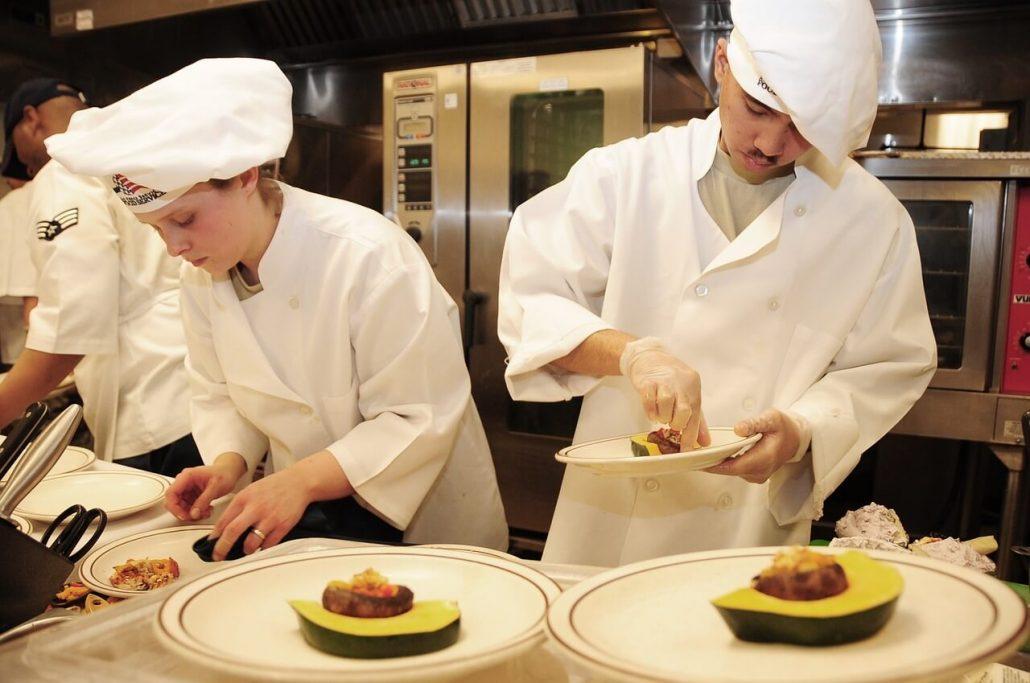 Team building de cocina