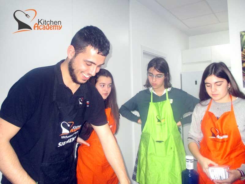 cursos de cocina para jovenes