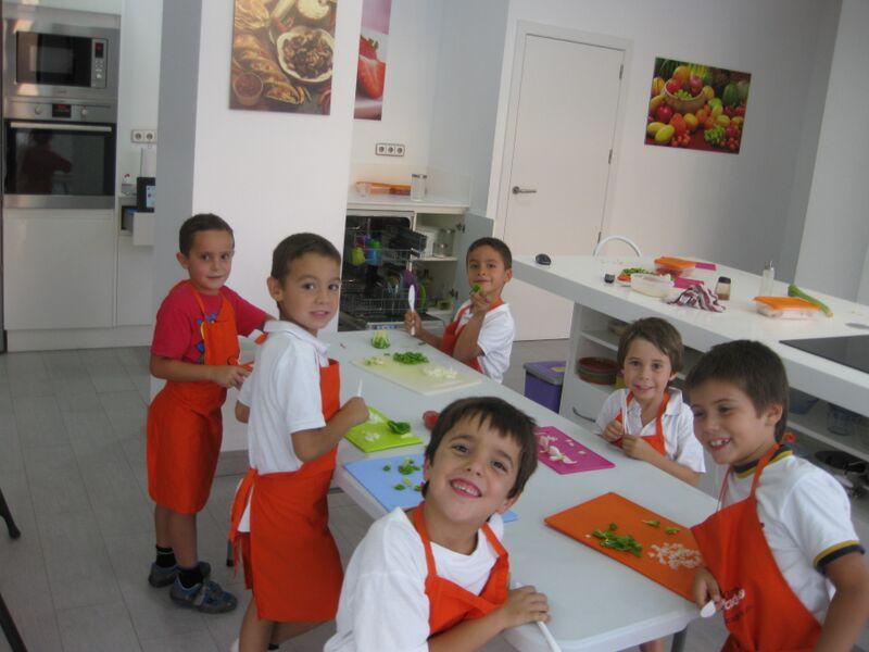 Escuela de cocina infantil kitchen academy proyecto for Escuela de cocina