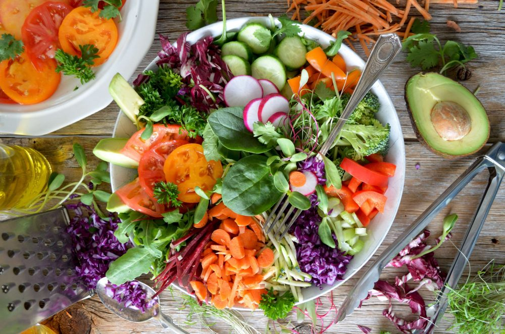 comer más verduras